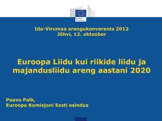 Ida-Virumaa arengukonverents 2012 Jõhvi, 12. oktoober