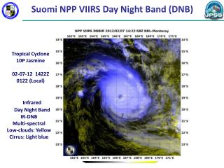 Suomi NPP VIIRS Day Night Band (DNB)