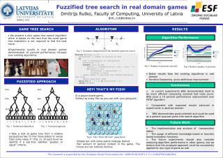 Fuzzified  tree search in real domain  games