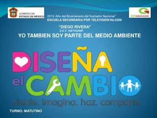 """2013. Año del Bicentenario del Ilustrador Nacional"""" ESCUELA SECUNDARIA POR TELEVISIÓN No.0206"""