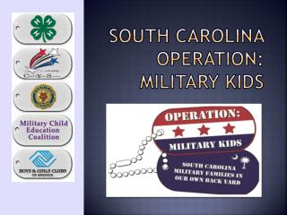 South Carolina Operation: Military Kids