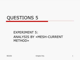 QUESTIONS  5