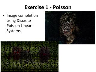 Exercise 1 - Poisson