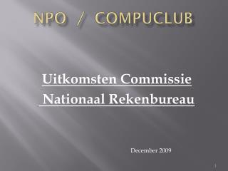 NPO  /  COMPUCLUB