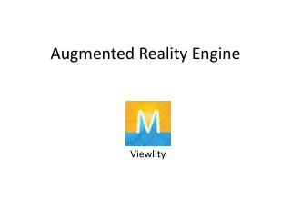 Augmented Reality Engine