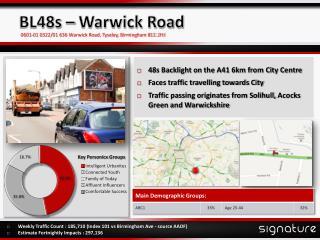 BL48s – Warwick Road