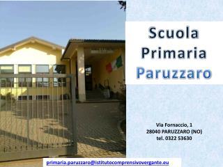 Scuola      Primaria  Paruzzaro