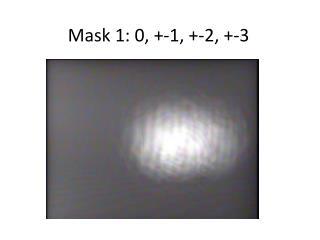 Mask 1: 0, +-1, +-2, +-3