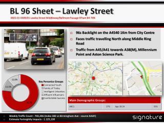 BL 96 Sheet �  Lawley  Street
