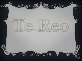 Te  Reo