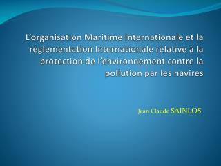 Jean Claude  SAINLOS