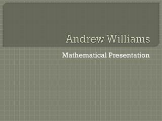 Andrew Williams
