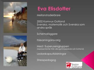 Eva Elisdotter