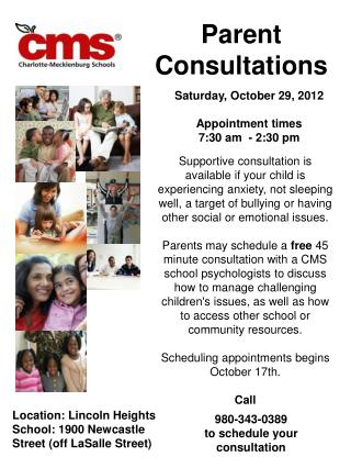 Parent Consultations