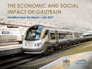 Socio-economic impacts of Crossrail