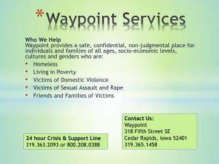 Waypoint Services