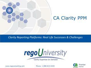 CA Clarity PPM