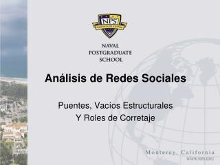 Análisis de Redes Sociales