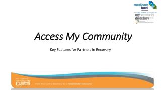 Access My Community