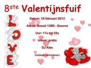 8 ste Valentijnsfuif