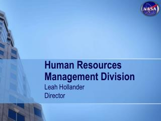 Human Resources Management Division