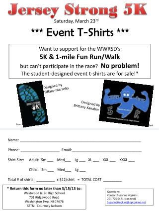 Jersey Strong 5K