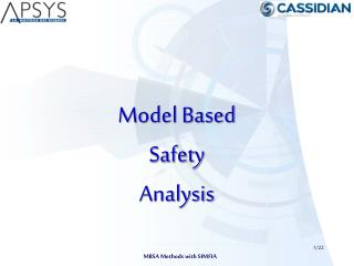 Model Based  Safety Analysis