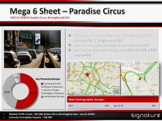 Mega 6 Sheet � Paradise Circus