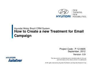 Hyundai Motor Brazil CRM System