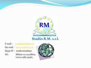 Studio R.M. s.r.l.