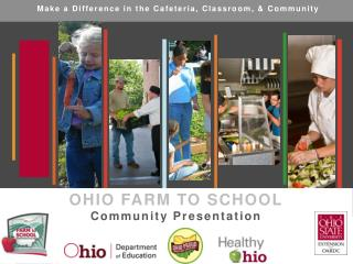 Make a Difference in the Cafeteria, Classroom, & Community