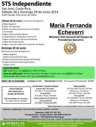 CALIFICACIONES:  VIP:  Supervisor con  6500PVT  al 50% en  Mayo.