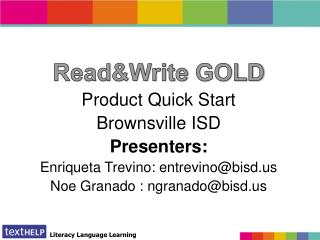 Read&Write 8.1 GOLD