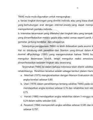48 TMAS mula-mula digunakan untuk mengungkap :