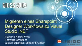 Migrieren eines Sharepoint Designer Workflows zu Visual Studio .NET