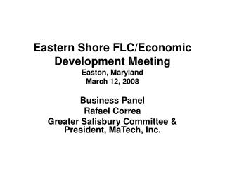 Eastern Shore FLC