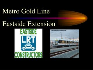 Metro Gold Line Eastside Extension