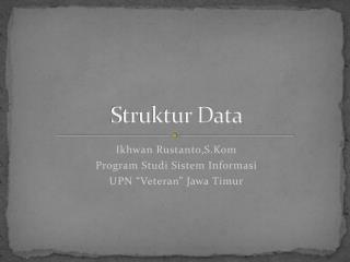 Struktur Data