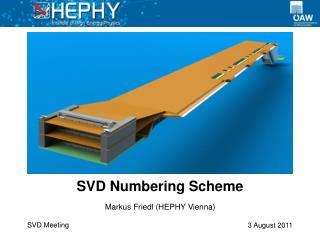 SVD  Numbering Scheme