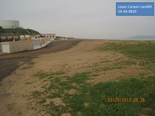 Lopez Canyon Landfill  19-AA-0820