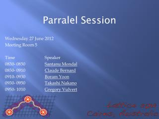 Parralel  Session