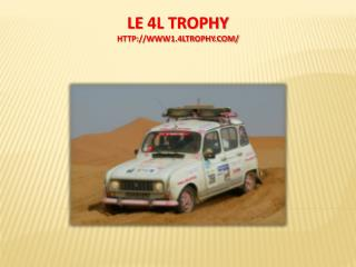 LE  4L  TROPHY www1.4ltrophy/
