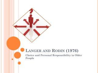 Langer and Rodin (1976)