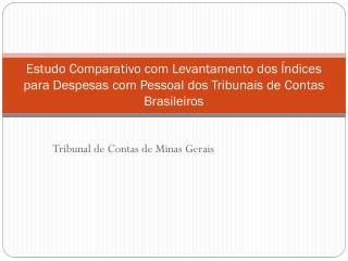 Tribunal de Contas de Minas Gerais