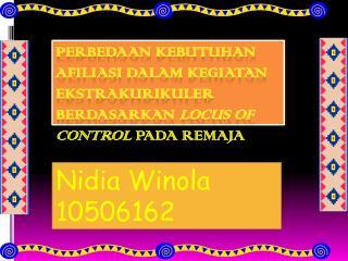 Nidia Winola 10506162