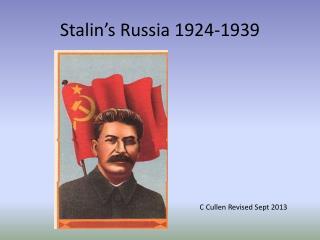 Stalin's Russia 1924-1939