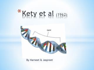 Kety  et al  (1962)