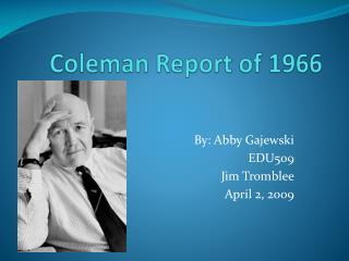 Coleman Report of 1966