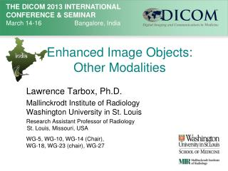 Enhanced Image Objects:  Other Modalities