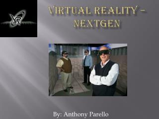 Virtual Reality – NextGen